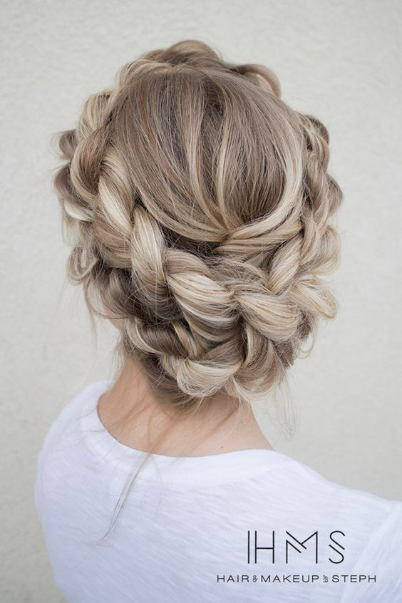 1000 Ideas About Quinceanera Hairstyles On Pinterest