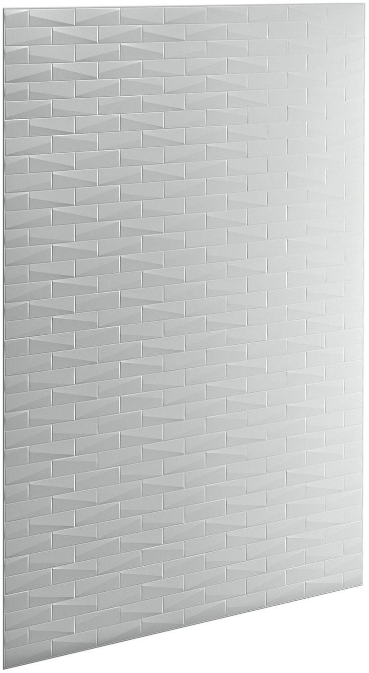 """Choreograph 60"""" x 96"""" Wall Panel, Brick Texture   Brick ..."""