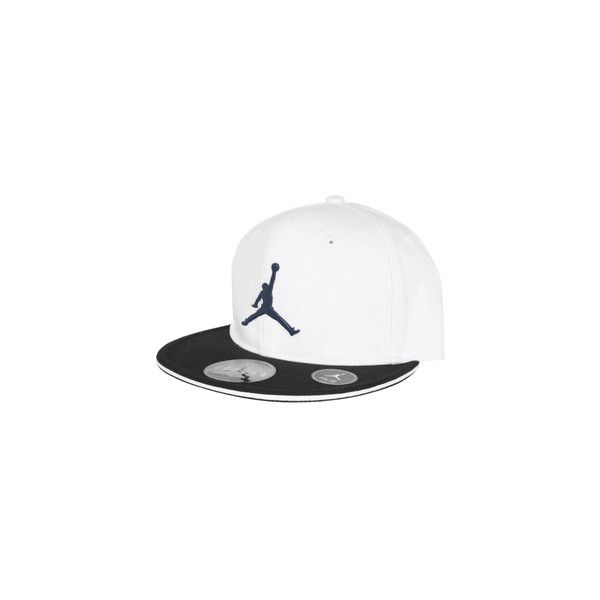 Air Jordan New Flycon Fitted Cap by Jordan Apparel... ($14) ❤ liked on Polyvore featuring accessories, hats, white fitted hat, white cap, white fitted cap, caps hats e fitted caps hats