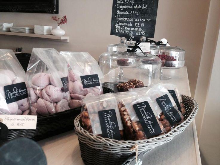 Patisserie Madeleine http://patisseriemadeleine.com Check out the new treats in store; blackcurrant marshmallows & almond pralines. #RaeburnPlace #Stockbridge #Edinburgh