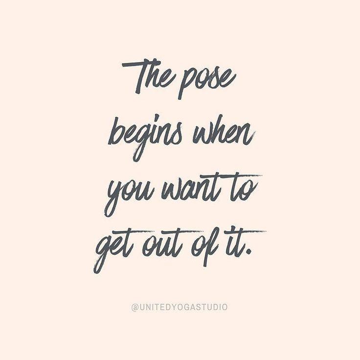 #yoga #yogainspiration The Pose Begins....