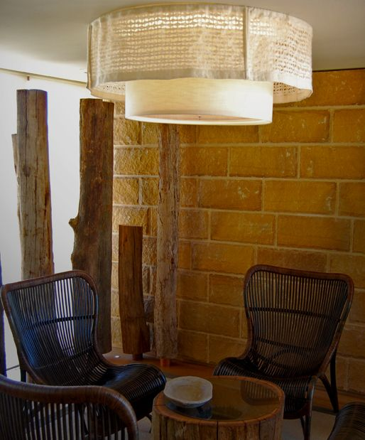 Custom handmade designer lighting designed created by diemme for resort interior