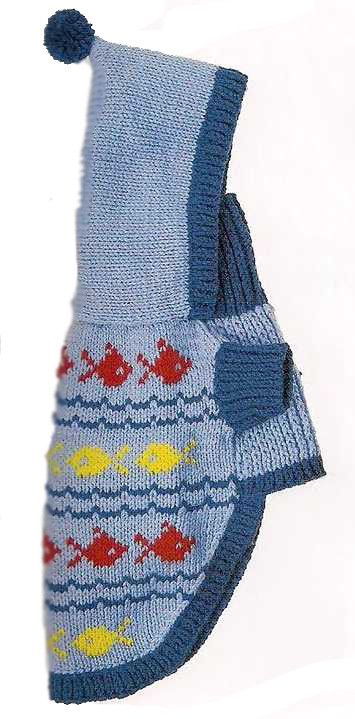 6.2  *Вязание свитера с рукавом и без рукава.