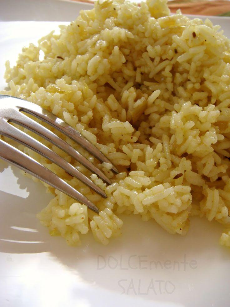 DOLCEmente SALATO: Riso basmati al curry