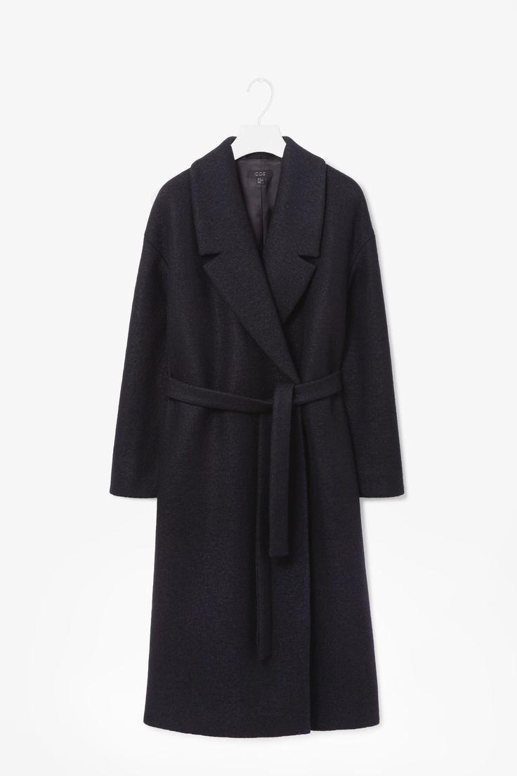 MINIMAL + CLASSiC: Wool mohair coat