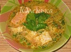 Как приготовить рыбный суп с горбушей, камбалой и молоком? Обалденно вкусный рецепт!