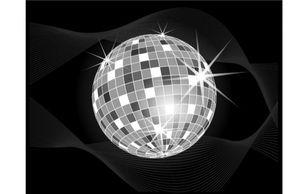 Music - Disco Ball Vector