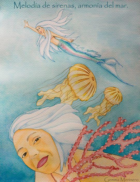 Melodía de sirenas armonía en el mar. (Gemma Merinero)
