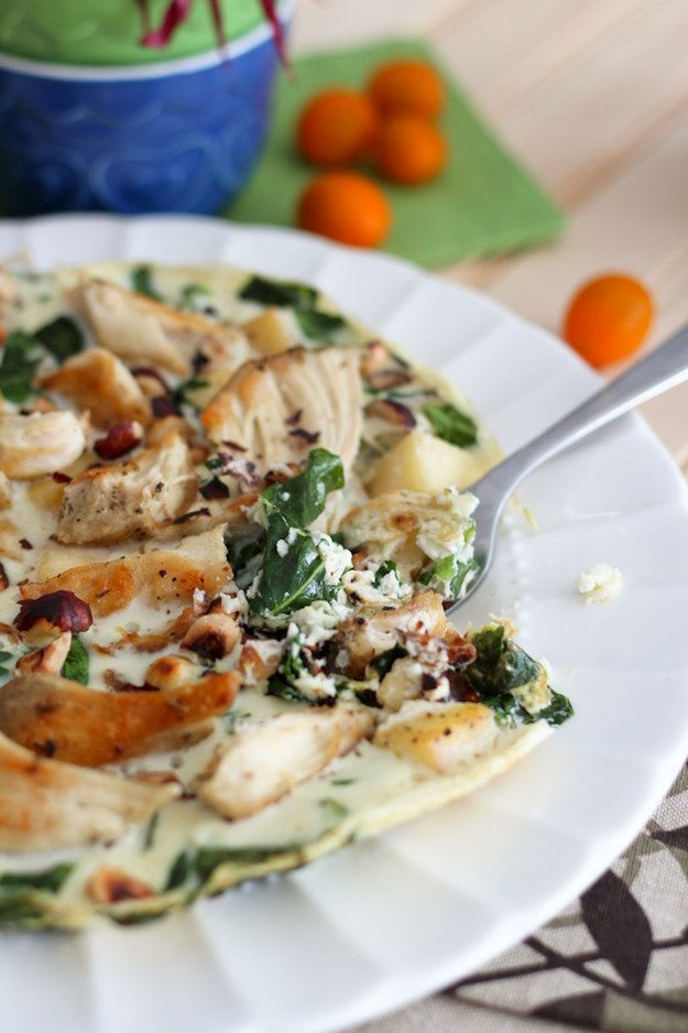 Apple and Chicken Egg White Omelet | 17 Heart-Healthy Recipes That Actually Taste Great