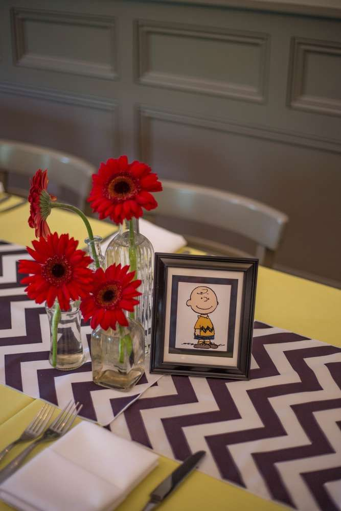Snoopy & Peanuts Birthday Party Ideas | Photo 20 of 44 | Catch My Party