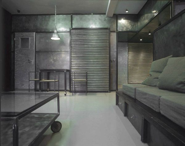 67 best industrial style images on pinterest - Decoration style industriel design ...