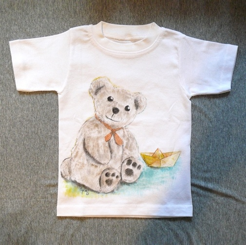My handpainted t-shirts for 2 yrs old