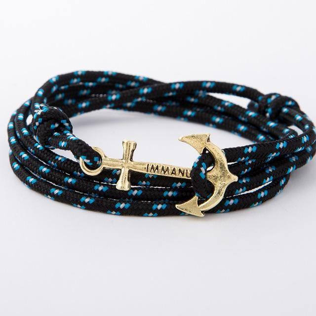 Paracord Retro Anchor Bracelets