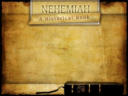 Nehemiah Review Questions - Doing Good
