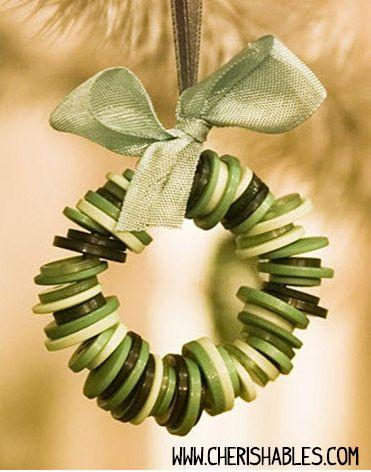 adorno-navidad-botones-diy-ninos - DIY Navidad con niños
