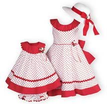 Polka Dot Twirl - Girls' Easter Dresses, Boys' Easter Outfits, Girls' Spring Dresses.