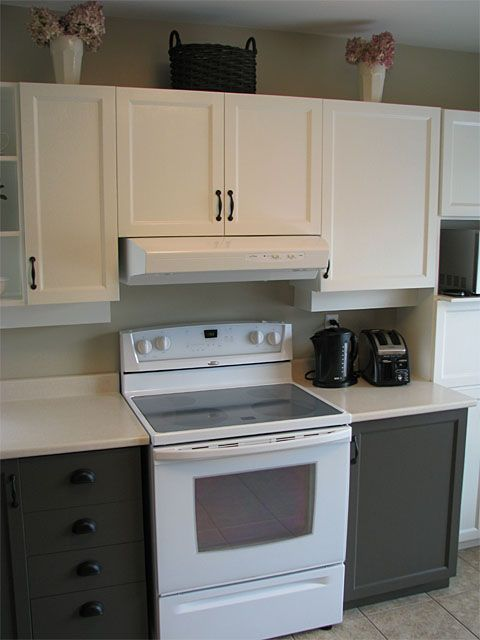 2 tone painted kitchen cabinets kitchen remodel ideas for 2 toned kitchen cabinets