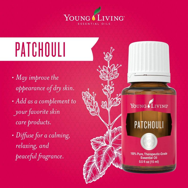Patchouli essential oil may be used topically to improve the appearance of dry skin and is an ideal complement when added to your favorite skin care products. Diffuse this oil for a calming, relaxing, and peaceful fragrance.  WWW.THESAVVYOILER.COM