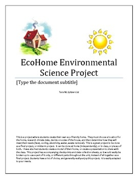 environmental science final project Sci 275 week 9 environmental science final project resource: gamescape episodes 1- 5, environmental science textbook, and four additional outside resources.