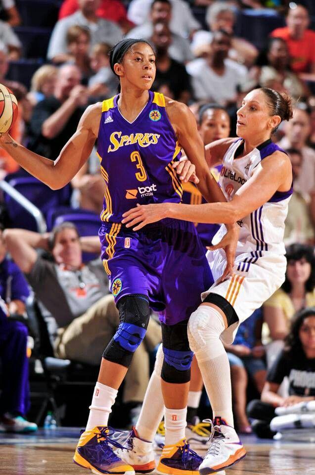 2 of my basketball idols Candace Parker & Diana Taurasi