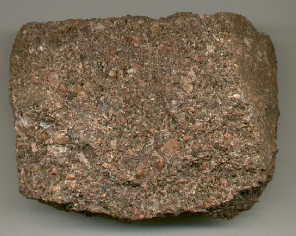 geology sandstone   Arkose - sandstone or conglomerate composed ...