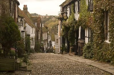 Rye, Hastings, England. One of the prettiest old towns.