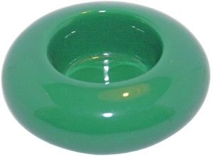 This lovely candle holder in green porcelain was designed by Kjell Engman for JIE