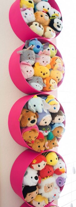 New Tsum Tsum holders!!! A cute and fun way to store your Tsum Tsum's!!!