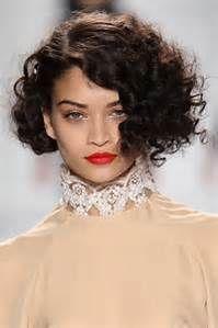 Tremendous 17 Parasta Ideaa Curly Asymmetrical Bob Pinterestissae Hairstyle Inspiration Daily Dogsangcom