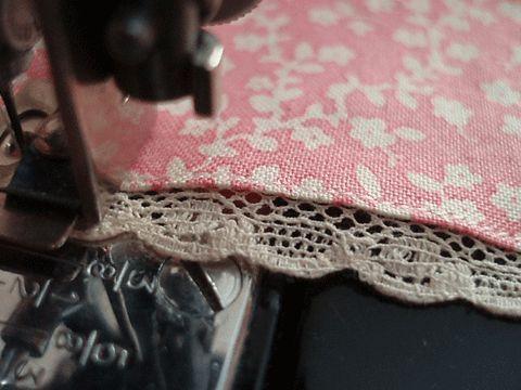 April 1930's - A Sewing Shoppe...Singer Edge Stitcher Attachment