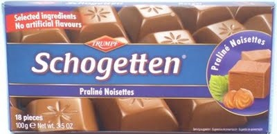 Trumpf Schogetten chocolate