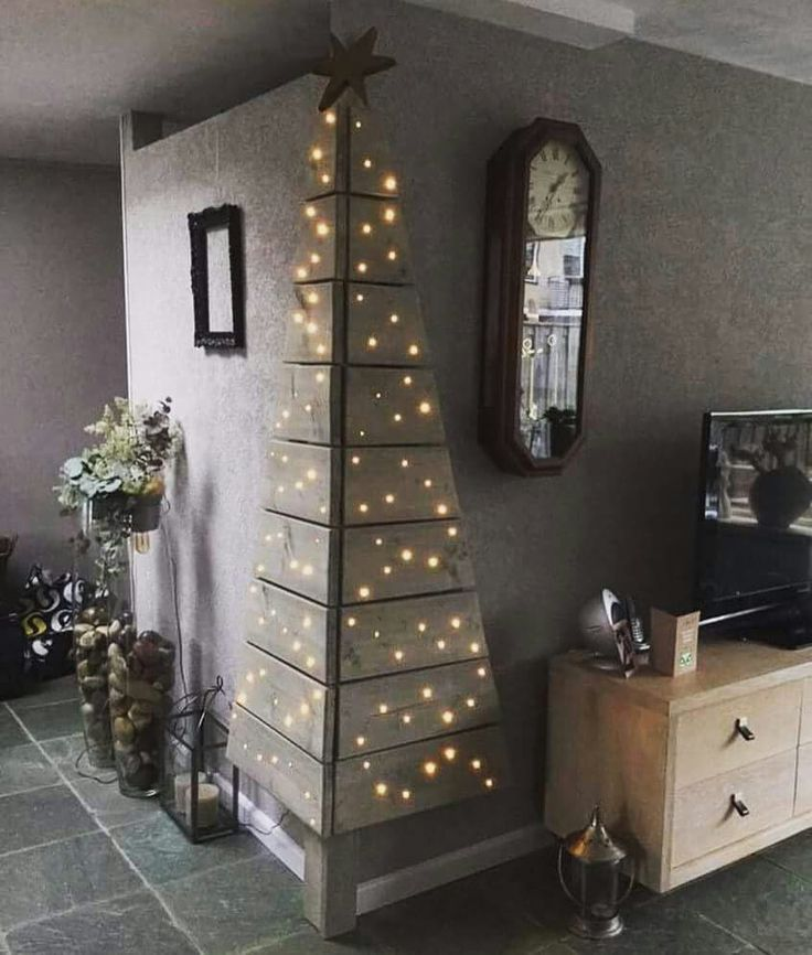 When there's no room for a Christmas tree. . .