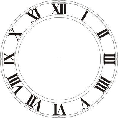 Printable Clock Faces.