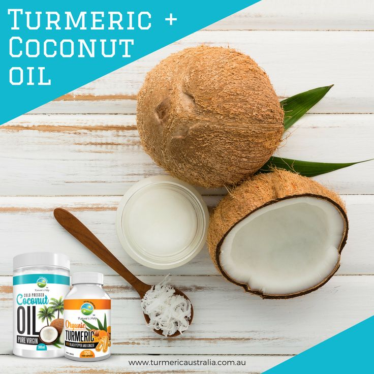 Looking to boost your immune system? Both coconut oil and turmeric may help. Turmeric's active ingredient, curcumin, can help to fight off diseases, while coconut oil possesses anti-viral and anti-bacteria properties.