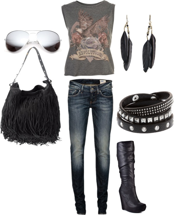 40 Best Rock Concert Outfits Images On Pinterest | Rock Concert Outfits Rocker Style And Casual ...