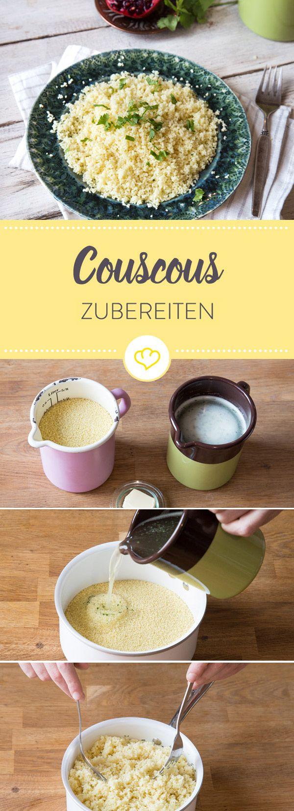 Couscous ist herrlich fluffig und lecker. Zum Glück ist die Zubereitung kinderleicht. Hier bekommst du alle Informationen rund um die kleinen Körnchen.