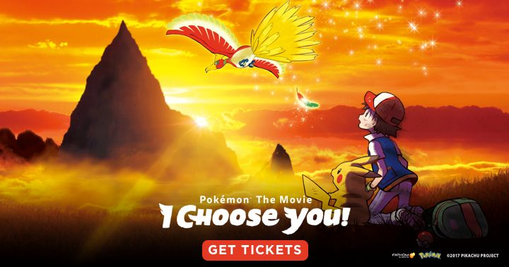 Those of us in Australia/New Zealand here's a link for tickets to the new Pokemon movie. On sale now.