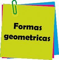 menu actividades para niños formas geometricas