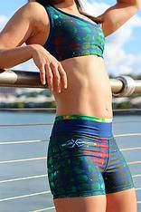 subxsports active Emerald Space Crop $55AUD and Shorts $45AUD