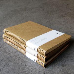 Midori spiral notebooks