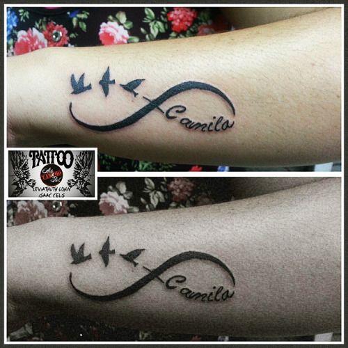 tattoo nombre con aves - Buscar con Google