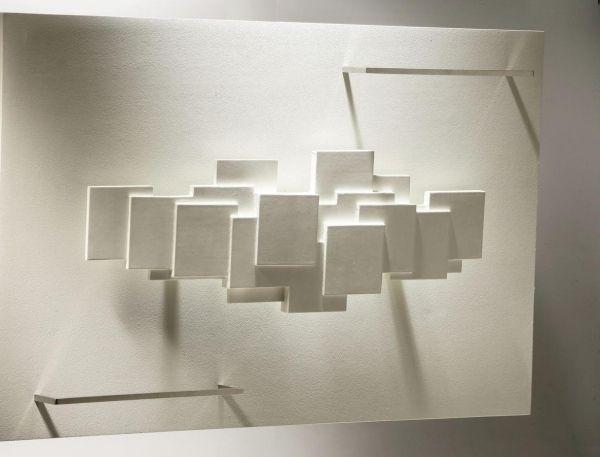 Elegant dekorative Heizk rper moderne heizung skluptural stein struktur