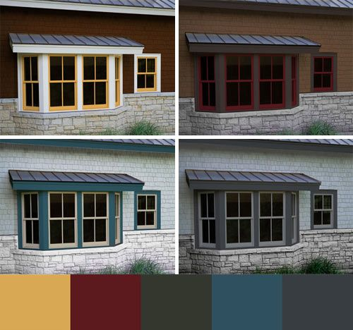 """Marvin's """"Any Color You Want"""" program celebrates that quest for personal style by offering—you guessed it—any color you want for the finish on the strong, durable extruded aluminum exterior cladding of your windows and doors.Ani Colors, Interior Design, Decor Ideas, Colors Windows, Interiors Design, Design Architecture, Windows And Doors, Marvin Windows, Events Interiors"""
