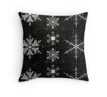 Snowflake Crystals Throw Pillow  BlueSpecsStudio + RedBubble