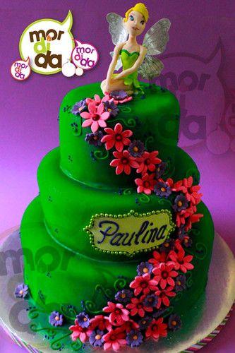Pastel de Campanita - pasteles_dany23 - Fotolog