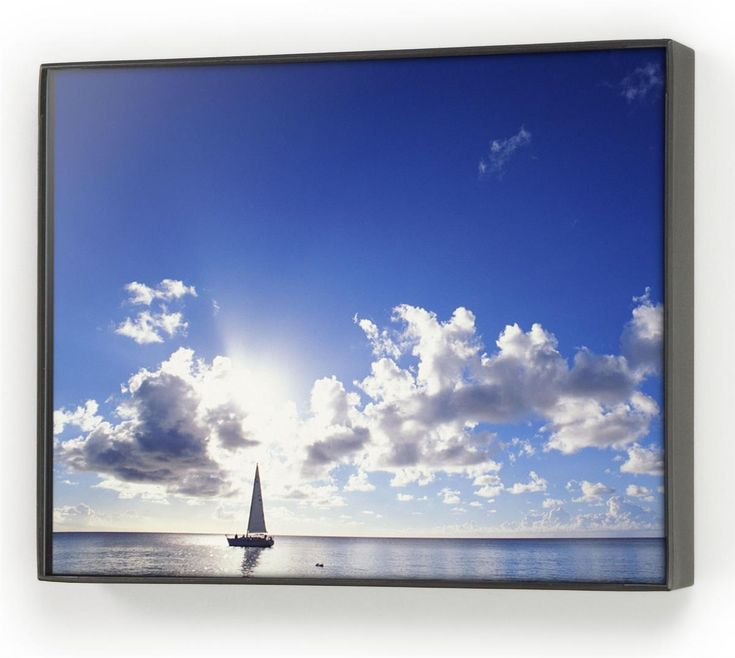 5 x 7 Plastic Picture Frame for Tabletop or Wall Mount, Snap-out Lens - Black