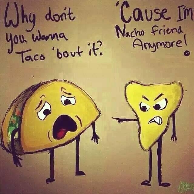 Taco vs Nacho