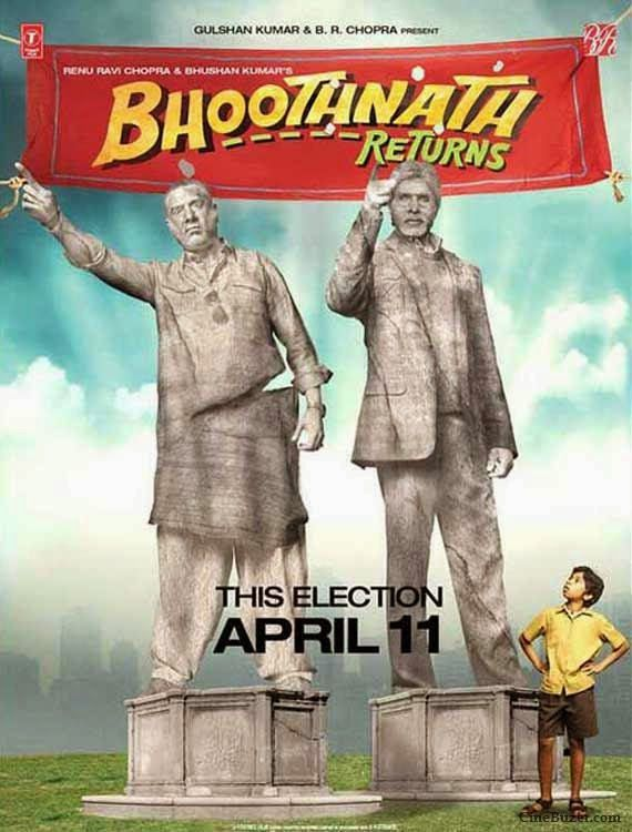 nice Bhoothnath Returns Movie Review: Pale Tale, One Time Watch