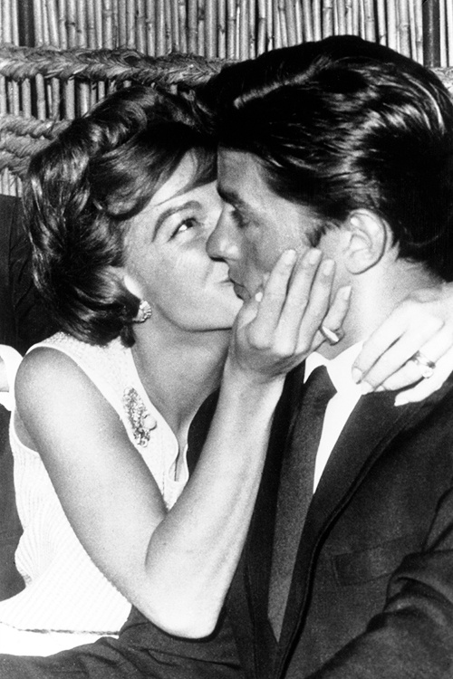 Romy Schneider & Alain Delon.