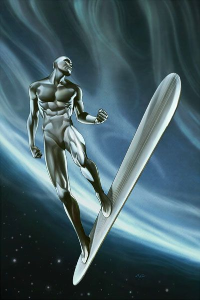 Silver Surfer by Adi Granov